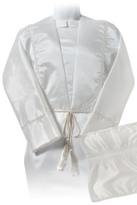 image of CHICHESTER unisex taffeta 18inch DF robe set
