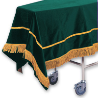 Velveteen Chapel Pall &#45; <strong>Bottle Green</strong>