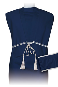 image of DUET Unisex Polycotton 9inch Robe Set