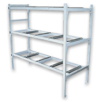 4-Tier Mortuary Storage Rack