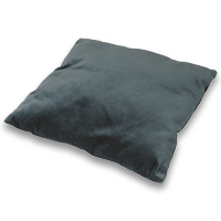 Velveteen Medal Cushion - <strong>Grey</strong>