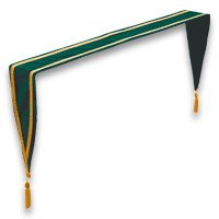 Velveteen Altar Drapes - <strong>Bottle Green</strong>