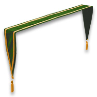 Velveteen Altar Drapes - <strong>Emerald Green</strong>