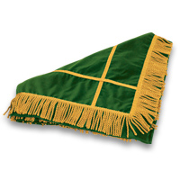 Velveteen Floor Mat - <strong>Emerald Green</strong>