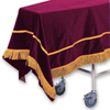 Click to view Velveteen Chapel Pall &#45; <strong>Maroon</strong>