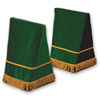 Click to view 27&quot; Velveteen Trestle Covers &#45; <strong>Emerald Green</strong>