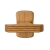 Click to view Oak T-end (round)