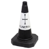 Click to view Funeral Parking Cone - Black