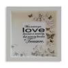 Click to view Butterfly Frame &#45; <b>Plain</b>