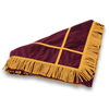 Click to view Velveteen Floor Mat &#45; <strong>Maroon</strong>