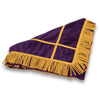 Click to view Velveteen Floor Mat &#45; <strong>Purple</strong>